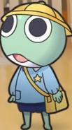 Keroro's school outtfit