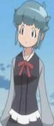 Momoka with baggy sleaves