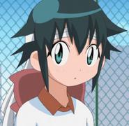 Koyuki in her team col,ors