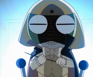 Keroro's conducter outfit