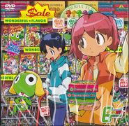 Fuyuki & natsumi & keroro buying in the market