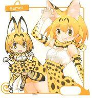 KemonoFriends Serval 01