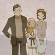 Asami and her parents