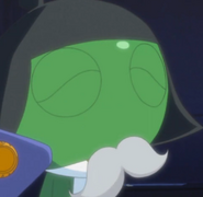 Keroro as the head boss