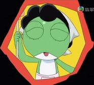 Keroro's mother as the Platoon Leader