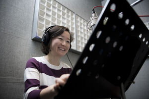 Miss Hwa recording