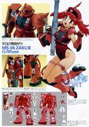 Natsumi as a gundam