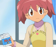 Natsumi in yet another apron