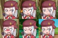 Giroro expressions 01