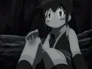 Koyuki with a scrapped knee