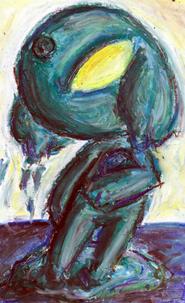 Dibujo estilo oleo de Giruru