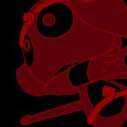 Shivava Red Black