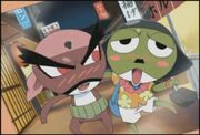 Keroro and Giroro's dads