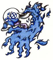 Kagege Blue Fire