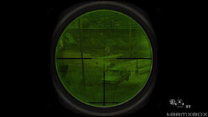 Green Sniping and ACOG Scope