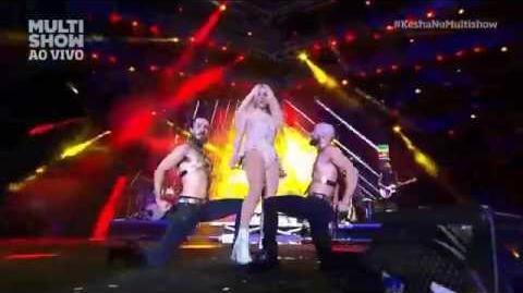 Kesha - Die Young live Festival de Verão Salvador 2015