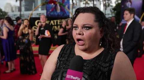 The Greatest Showman's Keala Settle finds out Kesha did a 'This Is Me' cover