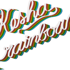 <b>Kesha</b> <i>Rainbow</i> Alternative logo (png made by @keshaswhore)