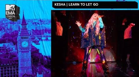 Kesha - Learn to Let Go (Live at the MTV EMA's 2017)