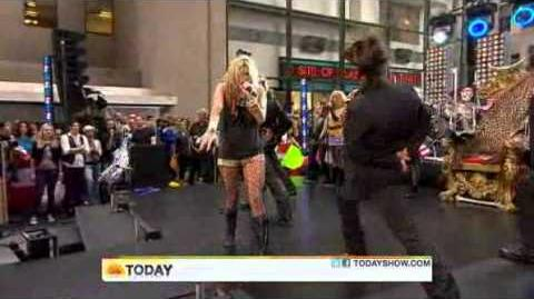 Ke$ha - Take It Off (Live on The Today Show)