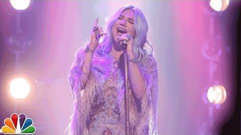 "Kesha Returns to Late Night TV with ""Praying"""