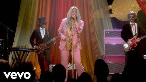 Kesha - Woman (Live Performance @ YouTube)