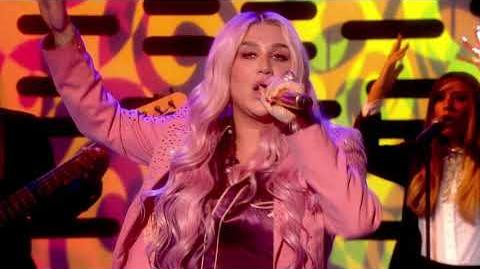 Kesha - Learn To Let Go Live on Graham Norton HD
