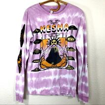 Kesha I've Found A Rainbow Purple Tie Dye Long Sleeve