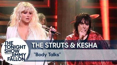 The Struts and Kesha Body Talks-0