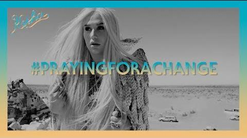 Kesha Announces PrayingForAChange