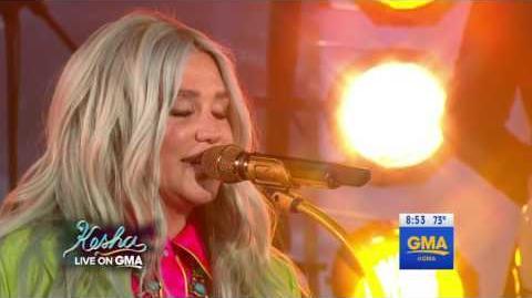 Kesha - Woman (feat. The Dap-Kings Horns) (Live on Good Morning America)