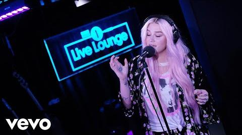 Kesha - Learn To Let Go in the Live Lounge