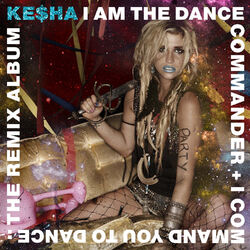 I am the dance commander + i command you to dance- the remix album cover