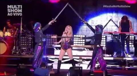 Kesha - Warrior live Festival de Verão Salvador 2015
