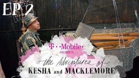 The Adventures of Kesha & Macklemore Tour Ep.2 BTS T-Mobile