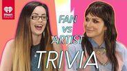 Kesha Goes Head to Head With Her Biggest Fan! Fan Vs Artist Trivia