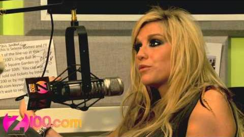 Z100 - Ke$ha Talks About Writing a Song For Britney Spears