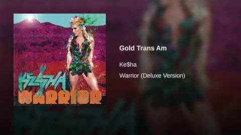 Gold Trans Am