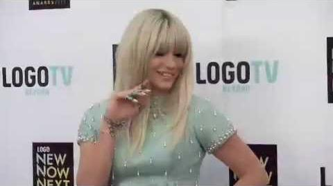 My Interview with Ke$ha at the NewNowNext Awards