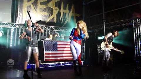 Kesha - Dinosaur live in Sydney, Australia