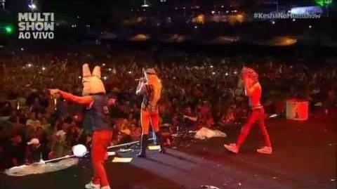 Kesha - Tik Tok Live Festival de Verão Salvador 2015