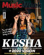 Kesha Music Week Jan 2020