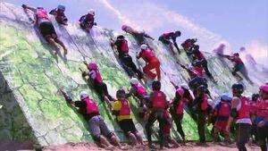 Slippery Wall Thailand