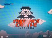 Takeshi's Castle Indonesia logo