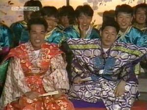 Takeshi at stage