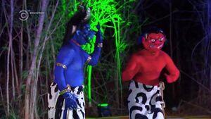 Blue Demon & Red Demon