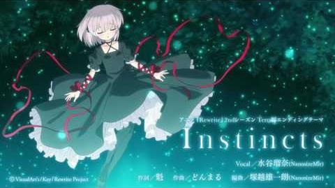 アニメ『Rewrite』2ndシーズンTERRA編エンディングテーマソング【Instincts】試聴動画