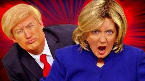 Hamilton PARODY - Hillary Rodham Clinton! The Key of Awesome 114