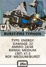 Burst-Fire Typhoon