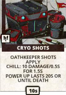 Cryo Shots